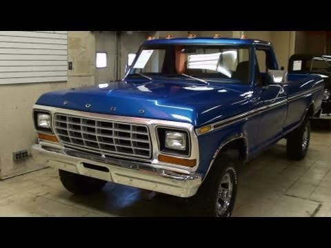 1979 Ford F150 4x4 Pickup 351 V8 - Nicely Restored Classic ...