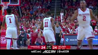 Louisville vs North Carolina State College Basketball Condensed Game 2018