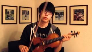 Christina Perri - A Thousand Years - Jun Sung Ahn Violin Cover