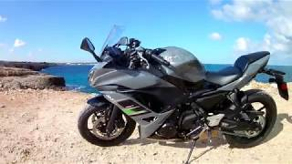 Travelling With KAWASAKI NINJA 650 2018 Grey