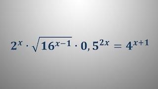 Eksponentna enačba 10