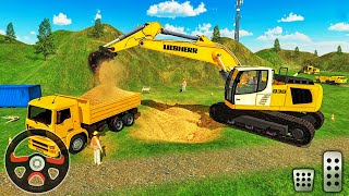 Mega Machines Construction Simulator 2018 - Highway Tunnel Construction - Android Gameplay