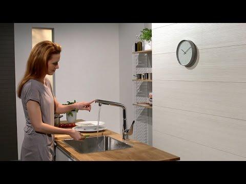 Hansgrohe Metris Select Single Lever Kitchen Mixer 320
