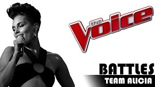 The Voice 2017 Battle - TEAM ALICIA