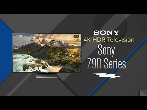 Sony Z9D Series 4K HDR With Android TV Smart HDTV - XBR-65Z9D XBR-75Z9D XBR-100Z9D - Overview