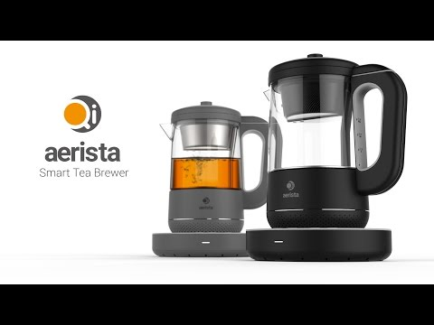 Qi Aerista: The Ultimate Smart Tea Maker - on Kickstarter NOW