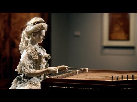 Demonstration of David Roentgen's Automaton of Queen Marie Antoinette, The Dulcimer Player