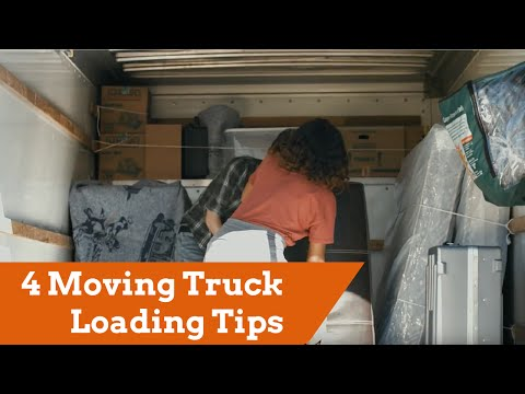 4 Moving Truck Loading Tips