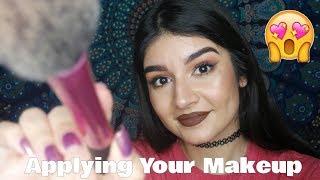 ASMR Doing Your Makeup || TenaASMR ♡