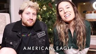 DIY Holiday Gifts with Kristen McAtee and Scotty Sire | American Eagle