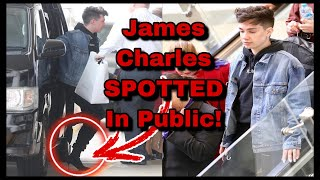 """James Charles Being """"SPOTTED"""" Was A PUBLICITY MOVE..."""