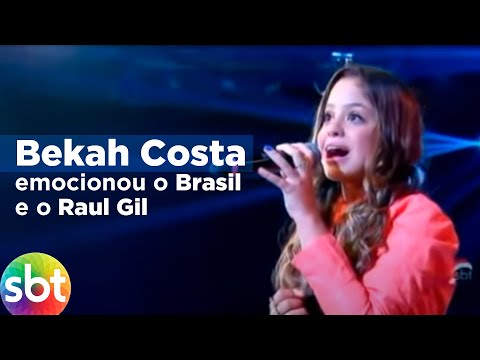 Baixar Bekah Costa emocionou o Brasil e o Raul Gil