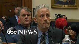 Jon Stewart slams Congress, Hong Kong protests heat up, Trump and Biden face off in Iowa
