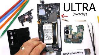 Samsung Note 20 Ultra Teardown! - No Copper Cooling inside?!
