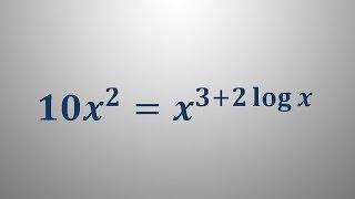Logaritemska enačba 18