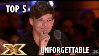 TOP 5 Most UNFORGETTABLE Auditions On The X Factor UK 2018!