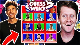Guess That NBA Player vs. Jiedel - INSANE Guess Who #1