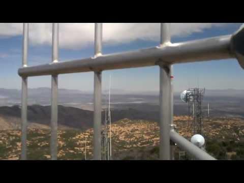 Mule Mountain ALERT Antenna Installation