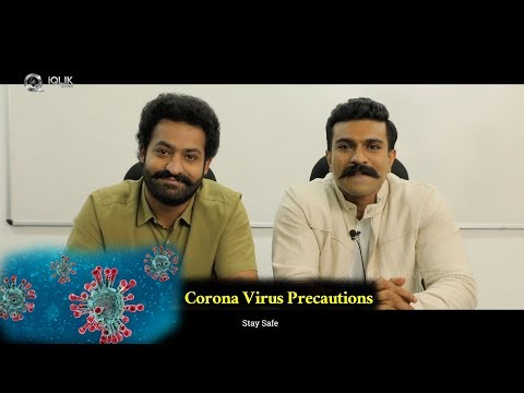NTR And Ram Charan On Corona Virus Precautions