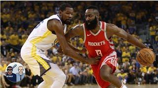 Rockets vs Warriors series victor will win the NBA Finals – Ryan Hollins | Jalen & Jacoby