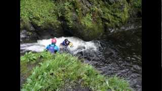 Gorge walking/scrambling