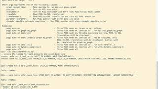 PGQL in SQLcl