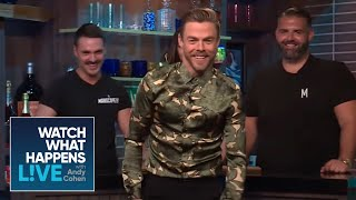 Derek Hough Impersonates Housewives Dances | RHOA And RHOBH | WWHL