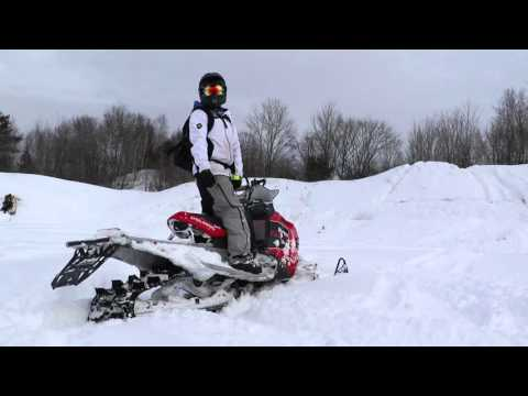 Backcountry Snowmobiling Upper Michigan