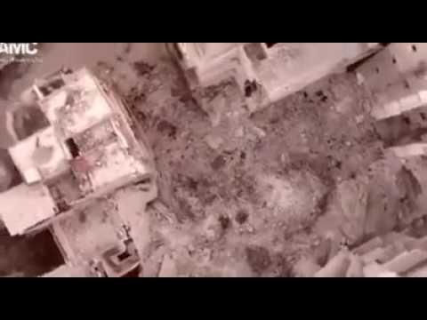 شاهد|| تصوير مشاهد جديدة تظهر مدى الدمار فى مدينة حلب السورية