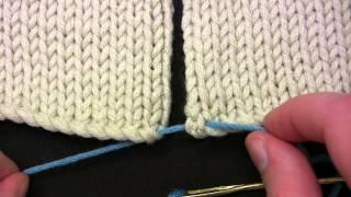 Berroco How to: Mattress Stitch