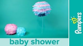 Gender Reveal Baby Shower Ideas: Boy or Girl Confetti Lantern | Pampers