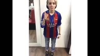 دابسمش رپ جدید سحر تبر با لباس بارسلونا !!!