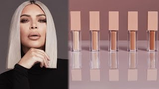 Kim Kardashian CALLED OUT For New KKW Concealer Shade Range