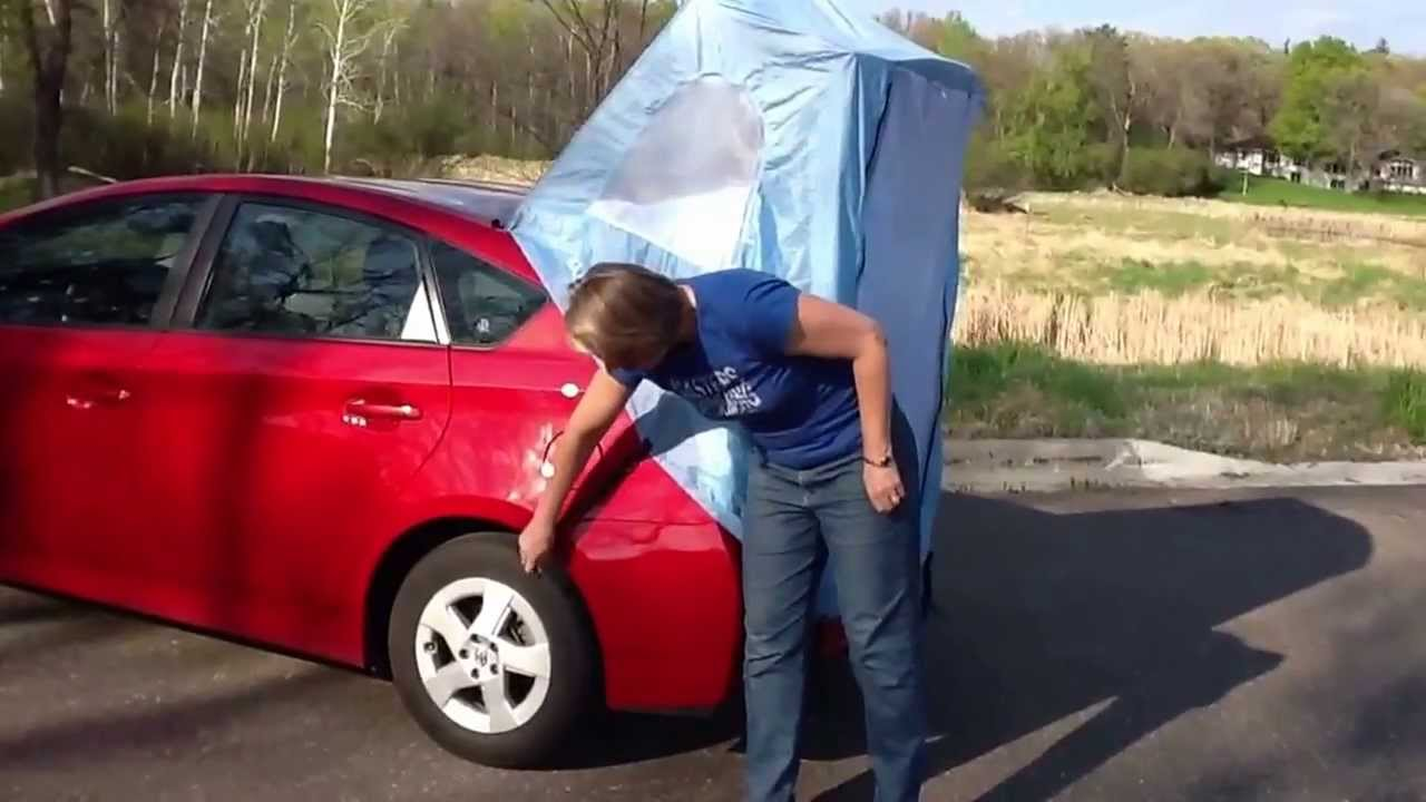 Prius Tent From Habitents Com Youtube