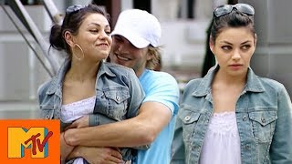 Mila Kunis Saves A Lost Puppy | Punk'd