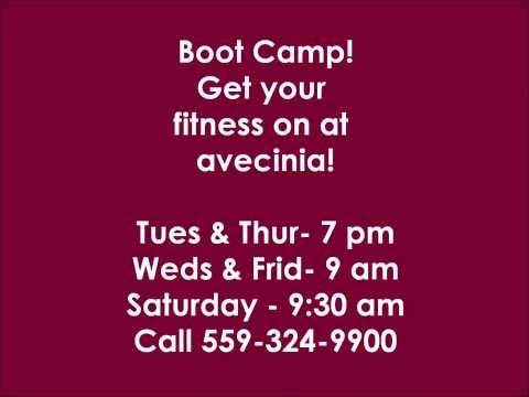 Boot Camp Classes in Clovis at Avecinia Wellness Center
