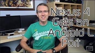 Nexus 4 Gets Android L Port, Jolla Phone Launcher Ported to Android 4.2+