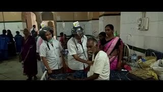 Hyderabad: Osmania General Hospital staff wear helmets for..
