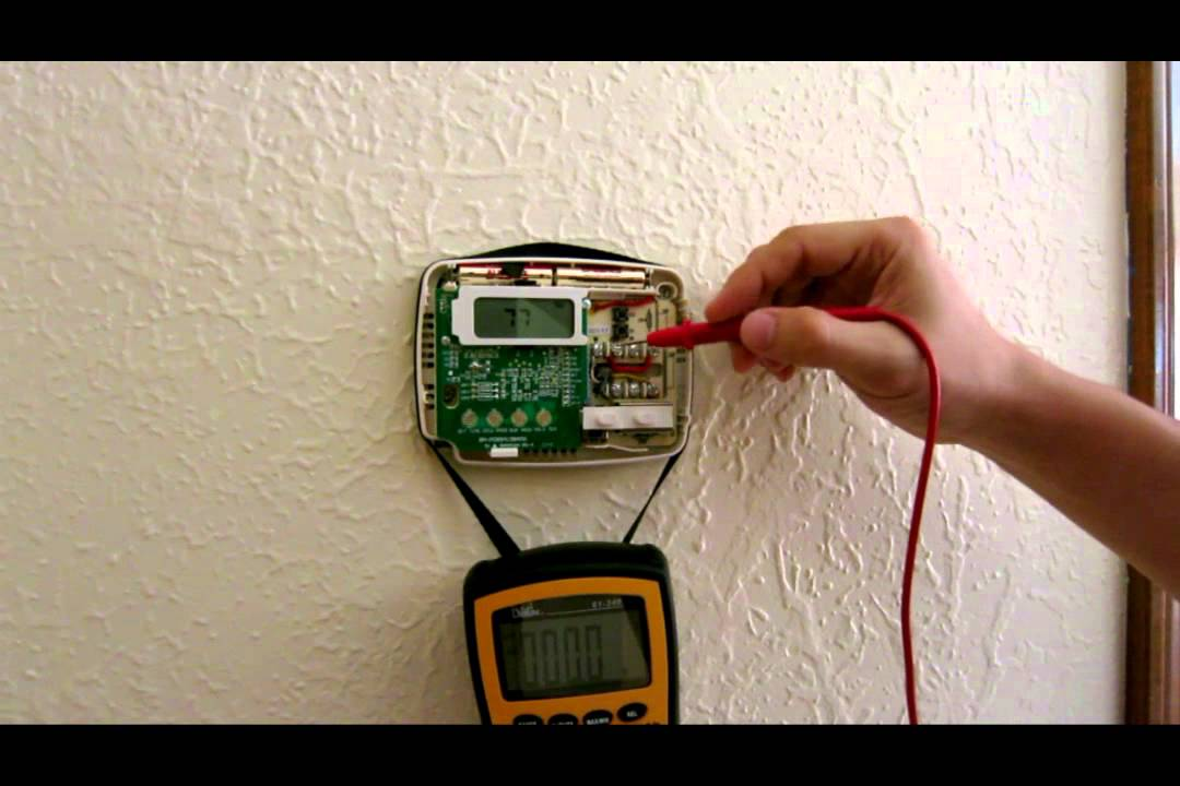 Wiring And Troubleshooting Thermostat Heat Cold Air