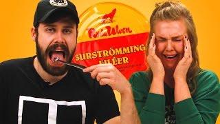 Irish People Try Surströmming (World's Smelliest Food)