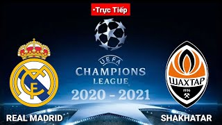 🔴Trực tiếp[Real Madrid vs Shakhtar Donetsk UEFA Champions League 2020/2021 ||Pes17