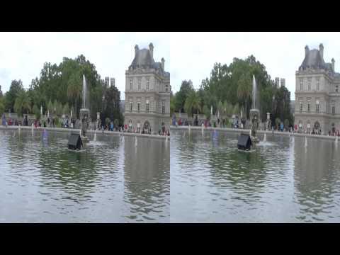 Paris, Luxembourg Garden, 2013 3D