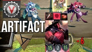 Превью: Artifact. ККИ по DOTA 2 от создателя Magic: The Gathering