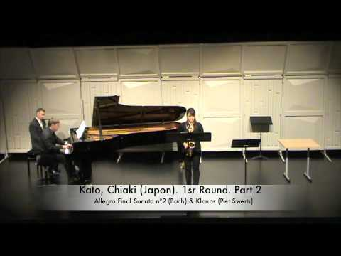 Kato, Chiaki (Japon). PLAYS: Bach and Free Piece