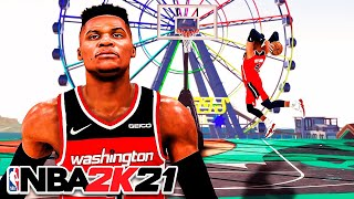 99 OVR RUSSELL WESTBROOK BUILD is ELECTRIC in NBA 2K21...