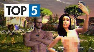 TOP 5 - Her, které potrestaly piráty