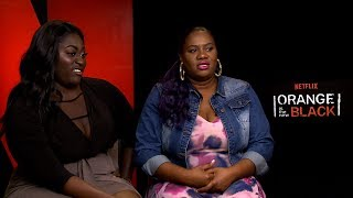 Interview with Danielle Brooks & Adrienne Moore for Season 5 of Orange Is The New Black