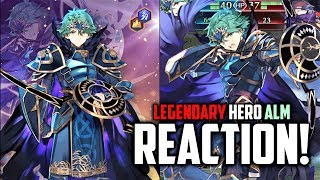 Legendary Alm Saint-King - Reveal Reaction and First Impressions [Fire Emblem Heroes]