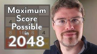 2048: The Maximum Score Possible