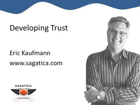 Developing Trust - 1 min Exec tip from Eric Kaufmann